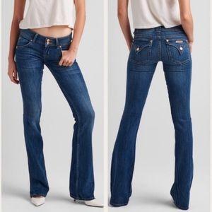 Hudson signature boot cut jeans +back pockets NWOT